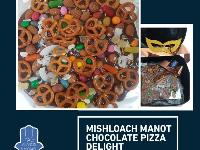 Mishloach Manot Chocolate Pizza Delight